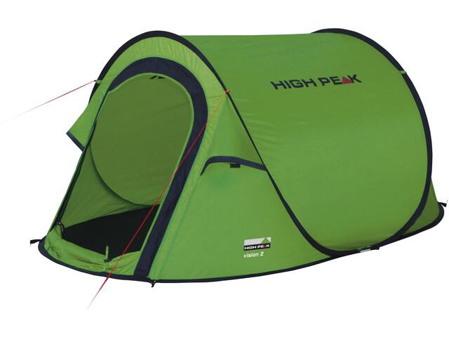 High Peak Vision 2 Tent, green/phantom
